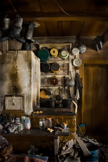 After his wife passed away Teofil began to surrounding himself with the objects.