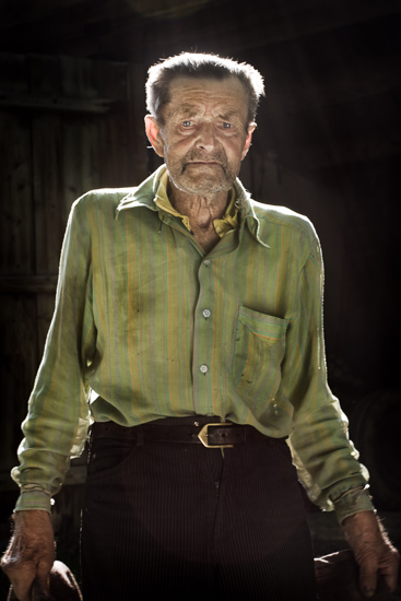 Portrait of Teofil.