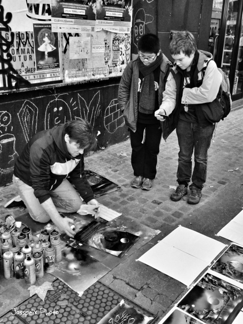 The street graphist - Chatelet les Halles