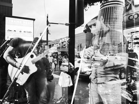 Lower Broadway, Nashville, Tennessee, USA