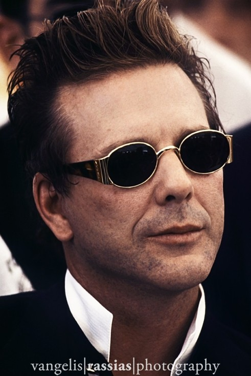 Mickey Rourke Cannes 1993