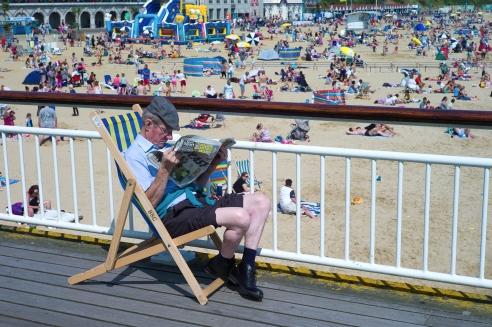Bournemouth Pier, Dorset, England.