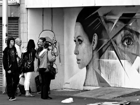 Catch 22 urban artist Blackpool UK