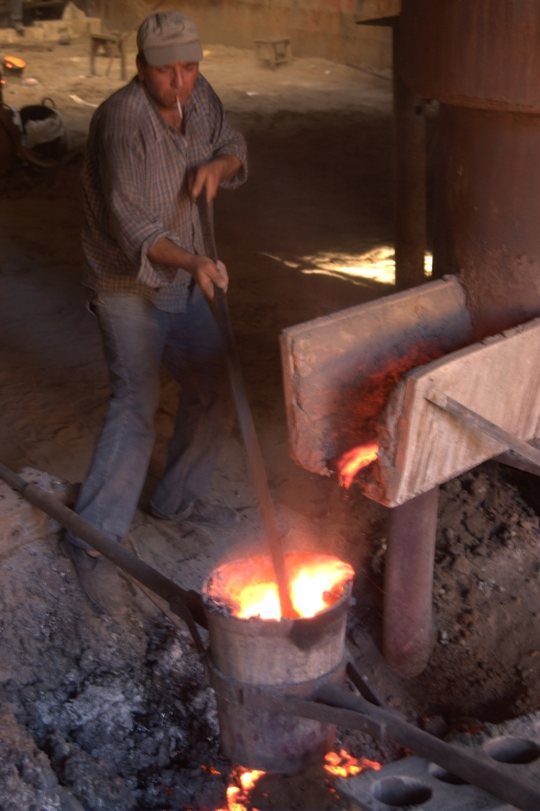 Foundry in the Industrial Area of Gaziantep, Turkey