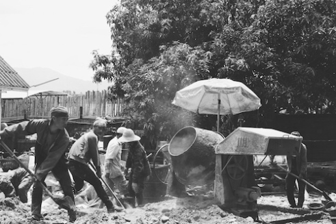 Into the mixer Hanoi, Vietnam