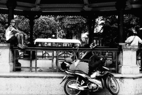 Nap time Hanoi, Vietnam