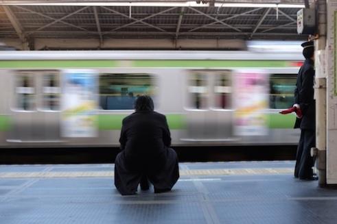 Platform Shinjuku, Tokyo