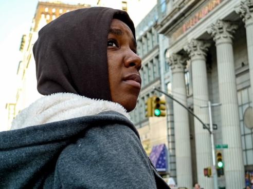Street Portrait New York, USA