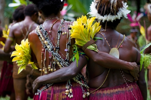 A strong sense of community comes across in each village visited as if all are one family living together and striving for the good of the whole. Barim Tribe - Madang, East Coast, PNG