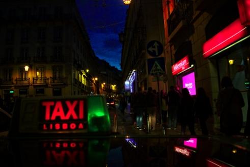 Taxi Lisboa, Portugal