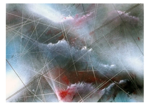Middle Passage Study - Oil & Aerosol on Paper - 2014