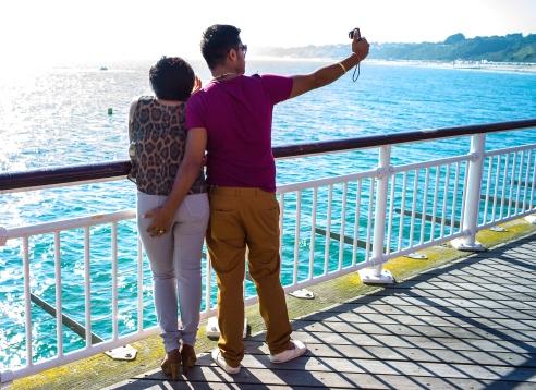 Cheeky Selfie Bournemoth Pier, England