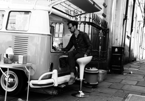 Cool campervan Bristol, UK