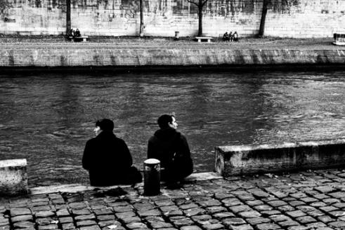Divergence ( Paris île de la Cité)