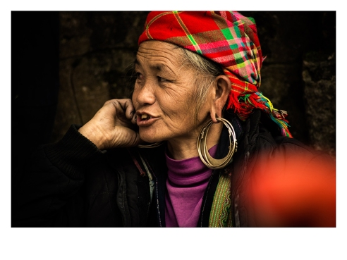 Woman of the H´mong ethnics in Sapa Mountains. Laocai province, Vietnam