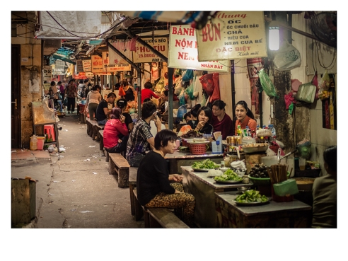 Main Market of HCMC, Vietnam