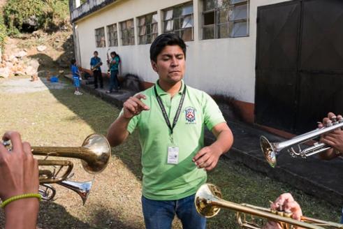 Orquesta Sinfónica Juvenil Carchá Carchá, Alta Verapaz, Guatemala