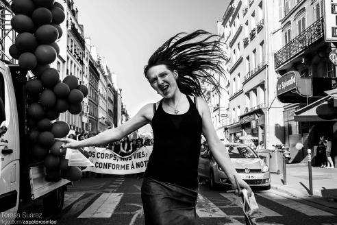 Manif pour les droits des personnes transexuelles, Paris, France