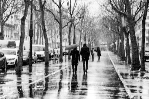 Paris le 2 février (Paris Bd Avron)