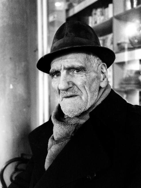 PORTRAIT OF OLD MAN CLUJ NAPOCA, ROMANIA