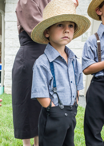 Young Amish Boy