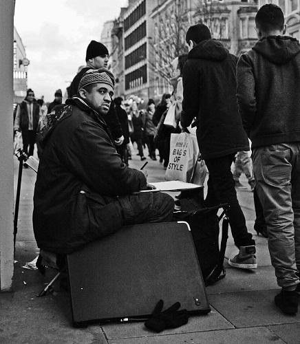 Street Artist Manchester, UK