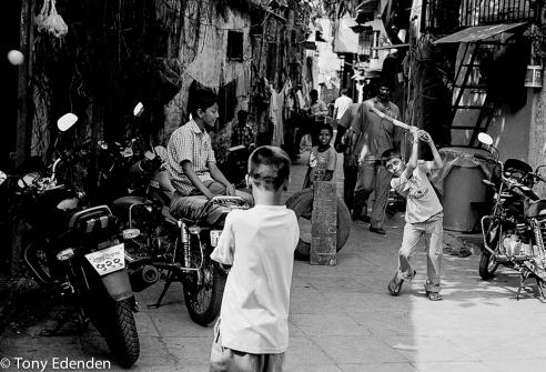 Street Cricket Mumbai, India