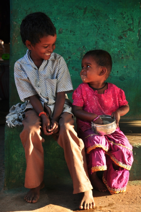 The real smile Madurai, India