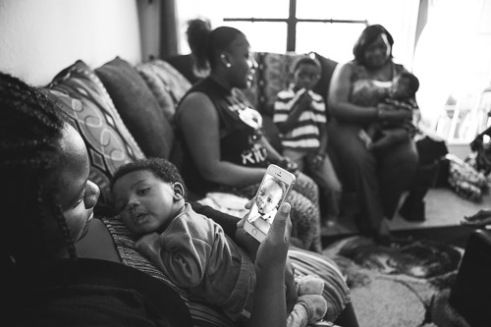 """""""Being a young black mother, at my first doctor visit, I felt I was no more that a statistic. Lonicia Orlando, Florida. 2015"""
