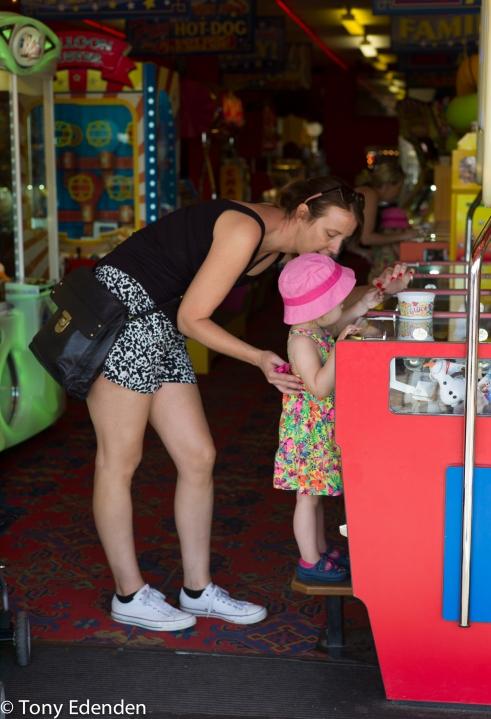 Amusement Arcade, Cromer, Norfolk, England.