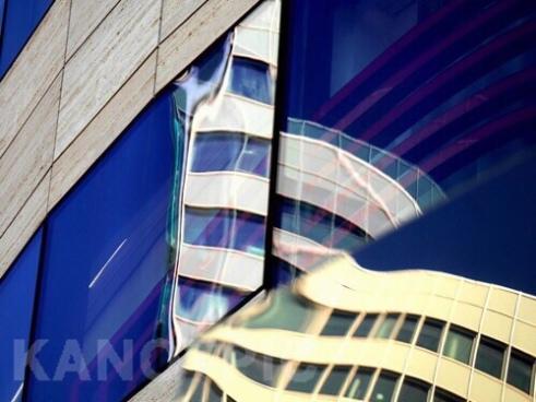 Magic Cube 1, Köbogen Building designed by Daniel Libeskind Düsseldorf , Germany