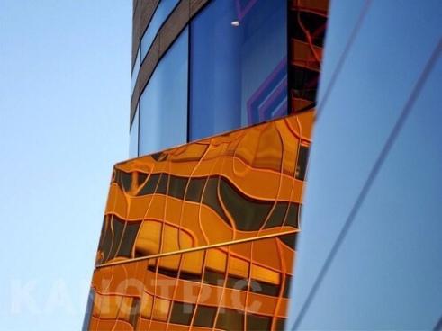 Magic Cube 2, Köbogen Building designed by Daniel Liebeskind Düsseldorf , Germany
