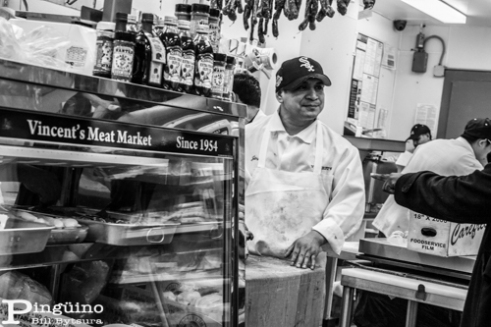 Vincent's Butcher Shop, Arthur Avenue, Bronx,New York, USA