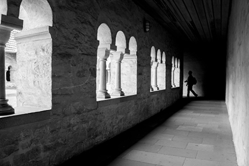 Cloister Cloister of the Busdorfkirche in Paderborn, Germany.