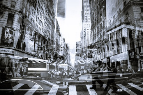 Intersection New York City, USA