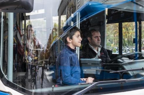 Bus in Gothenburg, Sweden