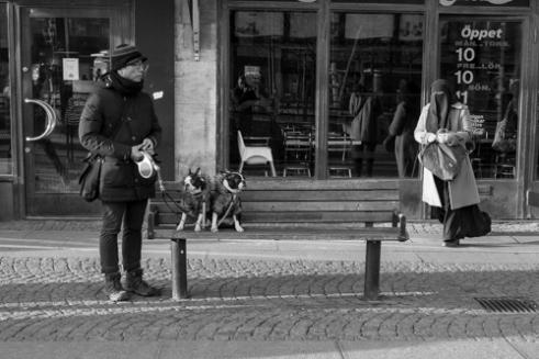 """Outside the Shopping center """"Nordstan"""" (near """"Brunnsparken"""" in Gothenburg, Sweden"""