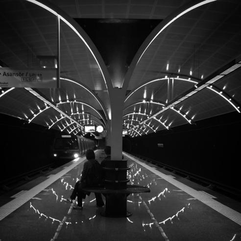 Etiler Underground Station, Istanbul, Turkey