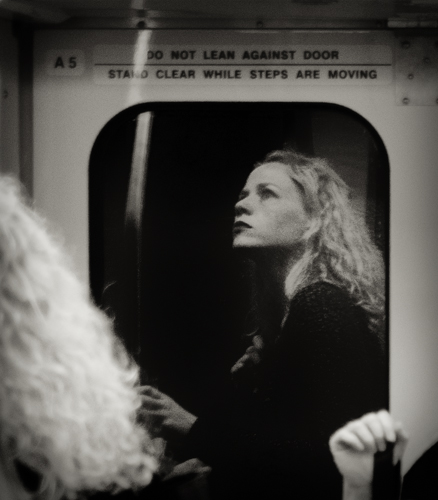 On the Muni, San Francisco, California, USA