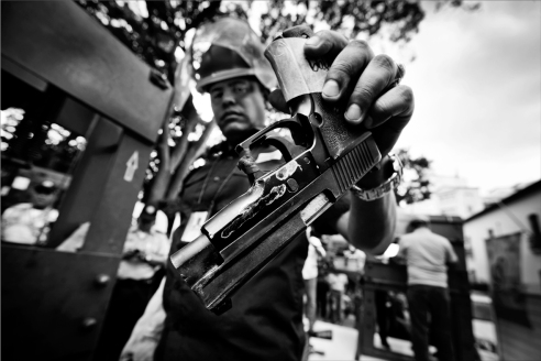 Disarmament now Caracas, Venezuela