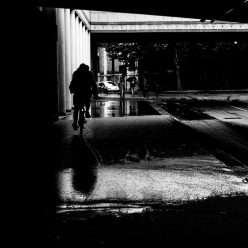 Dirty Lights 002 - Pont de Tolbiac, Paris