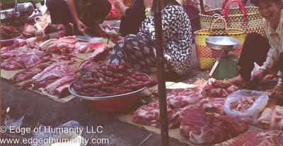 Meat market Thailand