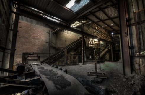 Inward Materials, Abandoned Brickworks in Surrey, Canada