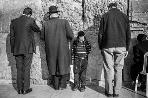 Rebellious Western Wall , Jerusalem, Israel