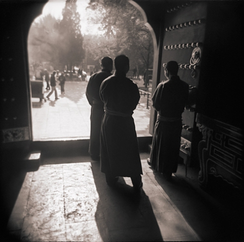 Llama Temple Monks, Beijing, China