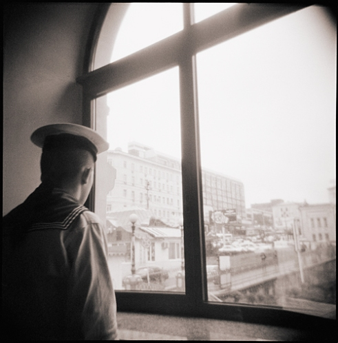 Daydreaming Sailor, Vladivostok, Russia