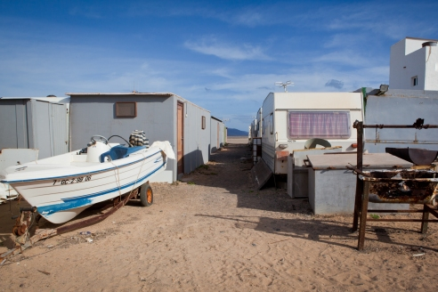 Village of Caravans Punta Jandia, Fuerteventura, Canary Islands