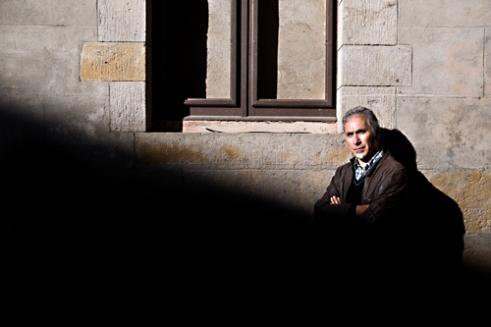 Portrait of Ricardo Boluda, drama teacher. Barcelona, Spain