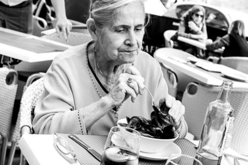 Enjoying Eating in Valencia, Spain