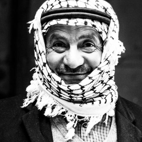 Old man in Hebron - Hebron, Palestine